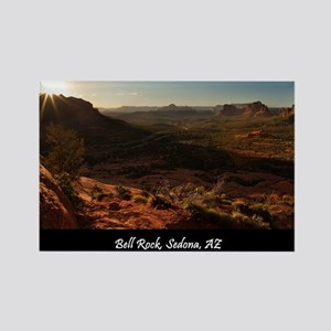 BELL ROCK VIEW_v2_CAFE PRESS_16x2 Rectangle Magnet