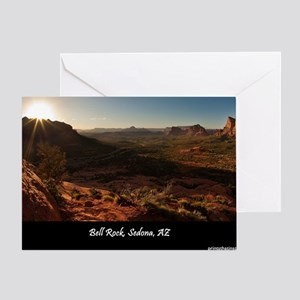 BELL ROCK VIEW_v2_CAFE PRESS_16x20 Greeting Card