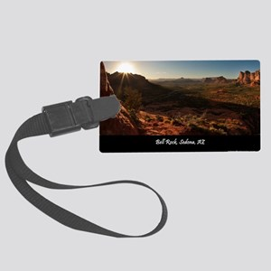 BELL ROCK VIEW_v2_CAFE PRESS_16x Large Luggage Tag