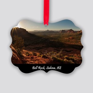 BELL ROCK VIEW_v2_CAFE PRESS_16x2 Picture Ornament