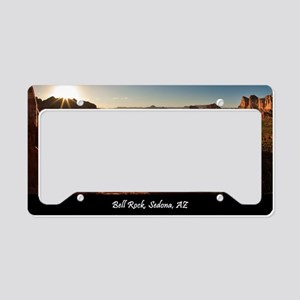 BELL ROCK VIEW_v2_CAFE PRESS_ License Plate Holder
