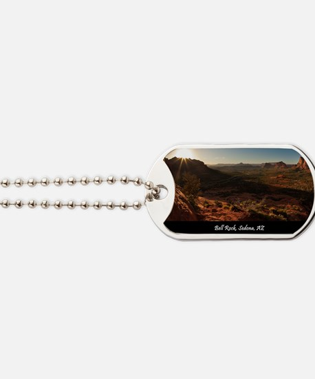 BELL ROCK VIEW_v2_CAFE PRESS_16x20 Dog Tags
