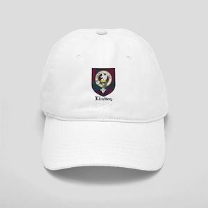 Lindsay Clan Crest Tartan Cap