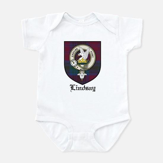 Lindsay Clan Crest Tartan Infant Bodysuit
