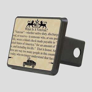 VET car magnet copy Rectangular Hitch Cover
