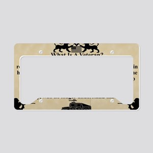 VET car magnet copy License Plate Holder