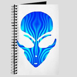 Aqua Blue Alien Journal