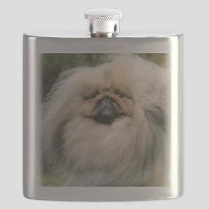 Pekingese 9Y201D-070 Flask