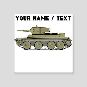 Custom Military Tank Sticker