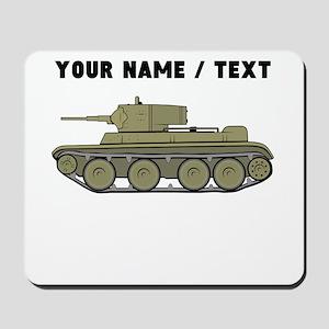 Custom Military Tank Mousepad