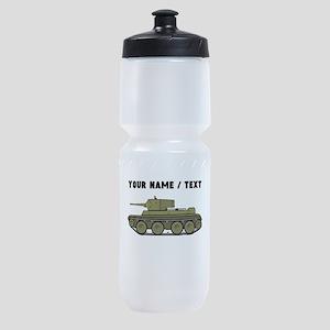Custom Military Tank Sports Bottle