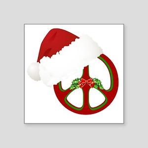 """santa_peace_10  Square Sticker 3"""" x 3"""""""