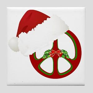 santa_peace_10  Tile Coaster