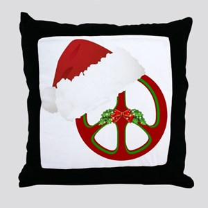 santa_peace_10  Throw Pillow
