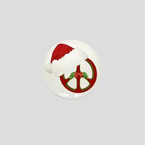 santa_peace_10  Mini Button