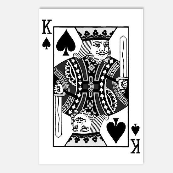 kingspadesblack Postcards (Package of 8)