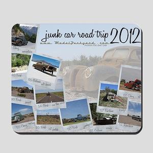 Calendar - cover 2012 Mousepad