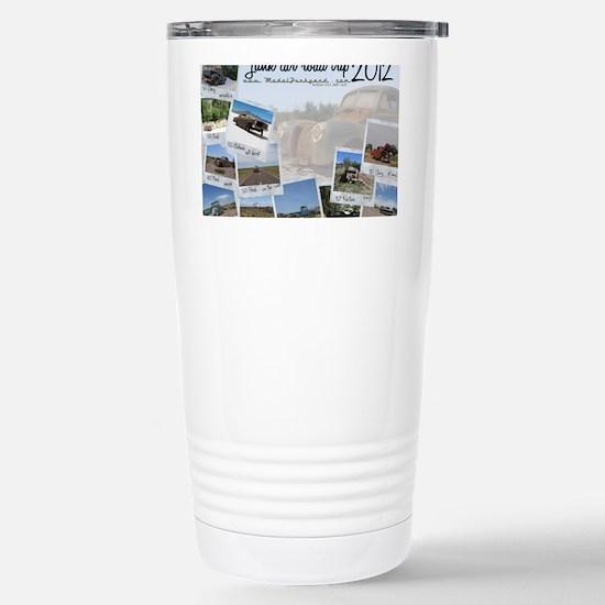 Calendar - cover 2012 Stainless Steel Travel Mug