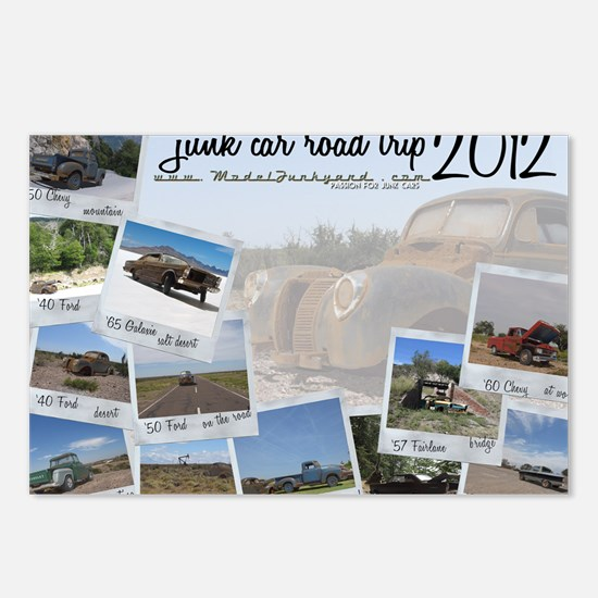 Calendar - cover 2012 Postcards (Package of 8)