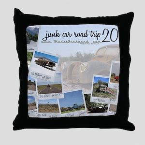 Calendar - cover 2012 Throw Pillow