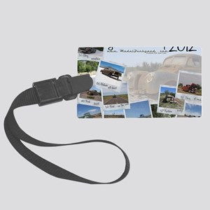 Calendar - cover 2012 Large Luggage Tag