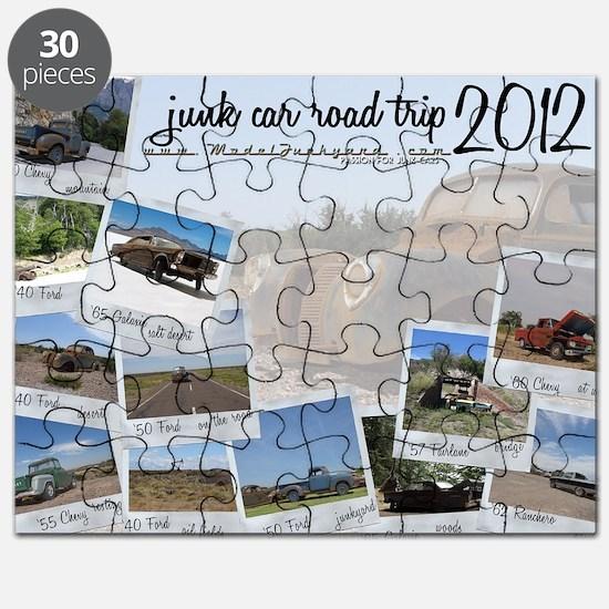 Calendar - cover 2012 Puzzle