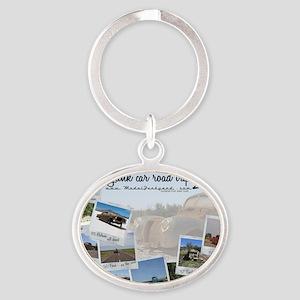 Calendar - cover 2012 Oval Keychain