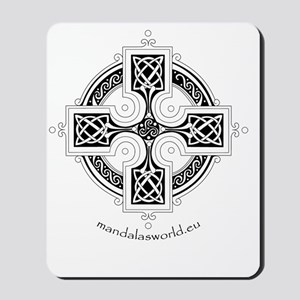 iPhone Celtic Cross n3 Dark Mousepad