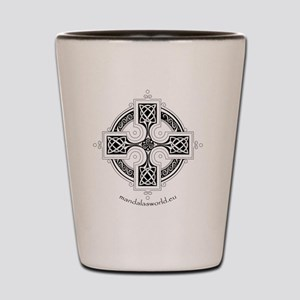 iPhone Celtic Cross n3 Dark Shot Glass