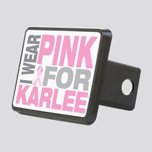 I-wear-pink-for-KARLEE Rectangular Hitch Cover