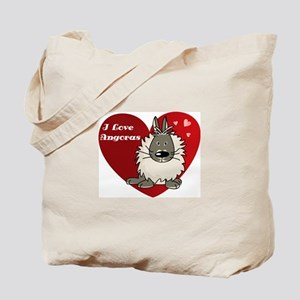 I love angora rabbits Tote Bag