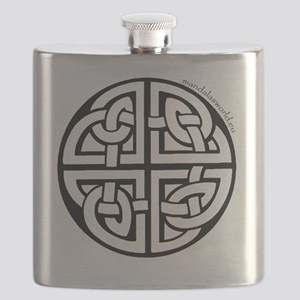 iPhone Celtic Mandala n2 Black Flask