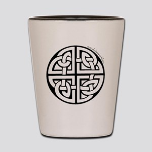 iPhone Celtic Mandala n2 Black Shot Glass