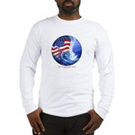 tidal wave copy Long Sleeve T-Shirt