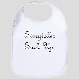 Storyteller Suck Up Bib