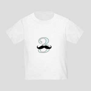 Little Man 3rd Birthday Toddler T-Shirt