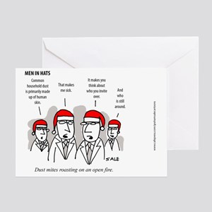 MEN_Dust_Skin_Xmas_Color Greeting Card