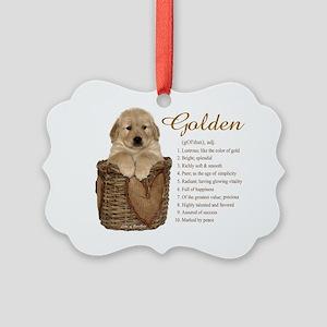 definegolden Picture Ornament