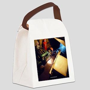barn-find vertical calendar-02 Canvas Lunch Bag