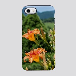 Orange Lilies iPhone 7 Tough Case