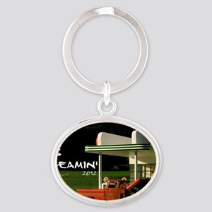 gas-dreamin-oversized-wall-calendar0 Oval Keychain