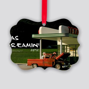 gas-dreamin-oversized-wall-calend Picture Ornament