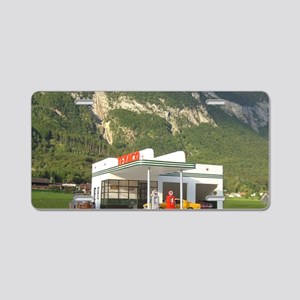gas-dreamin-oversized-wall- Aluminum License Plate
