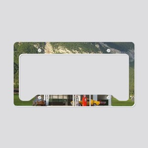 gas-dreamin-oversized-wall-ca License Plate Holder