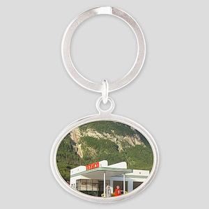 gas-dreamin-oversized-wall-calendar1 Oval Keychain