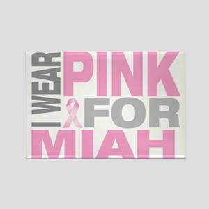 I-wear-pink-for-MIAH Rectangle Magnet