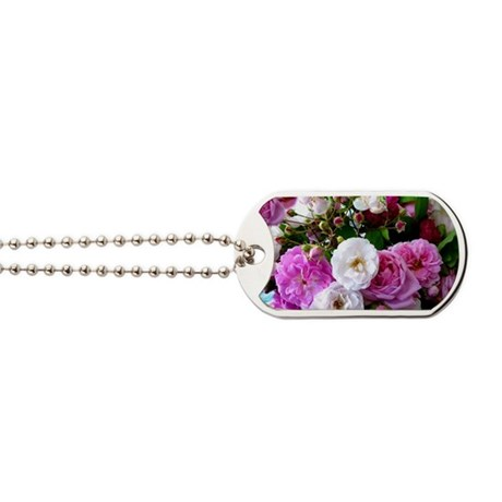 persian roses 6 Dog Tags
