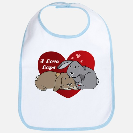 I love lop rabbits Bib
