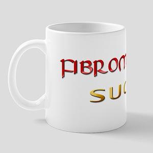 Fibromyalgia Sucks Mug