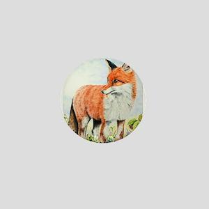 Young Fox Mini Button